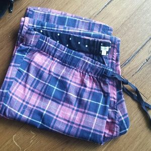 NWOT J. Crew Factory plaid flannel pajama pants